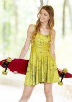 All-Over Print Skater Dress
