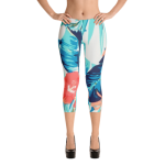 All-Over-Print Capri Leggings