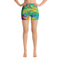 All-Over-Print Yoga Shorts